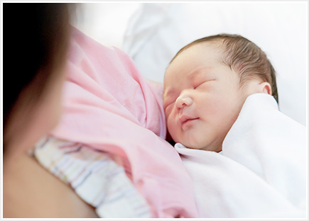 母乳育児のお手伝い